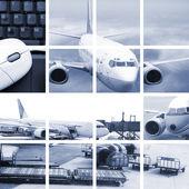 Air transport — Stock Photo
