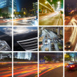 Concept of traffic — Stock Photo