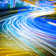 Light trails — Stock Photo #9533645