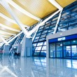 Stock Photo: Walkway of airport