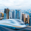 Very high-speed train — Stock Photo #9541238
