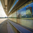 Reflection of modern office building - Stock Photo