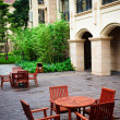 courtyard — Stock Photo