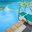 Swimming platform — Stock Photo