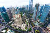 Lujiazui Financial Center — Stock Photo
