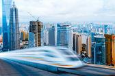 Very high-speed train — Stock Photo