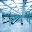 Hall of the airport,modern building concept. - Stock Photo