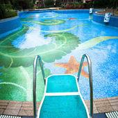 Swimming platform — Stock Photo