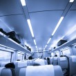 Interior of train — Stock Photo #9583821