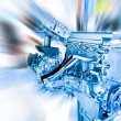 Car engine — Stock Photo #9596111