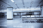 Business backgroung of subway station — Stock Photo