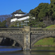 Royalty-Free Stock Photo: The bridge of a country in japan