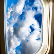 View of airplane — Stock Photo