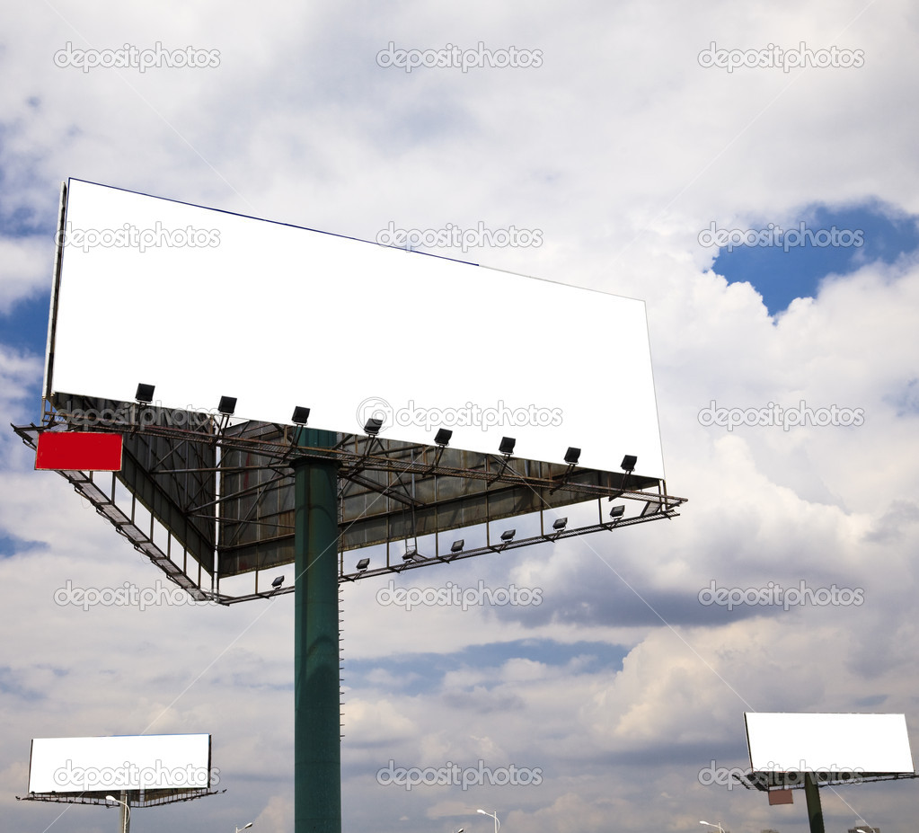 Billboard — Stock Photo #9612541