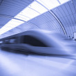 Train motion blur - Stock Photo