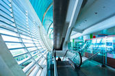 Hall of the airport,modern building concept. — Stock Photo