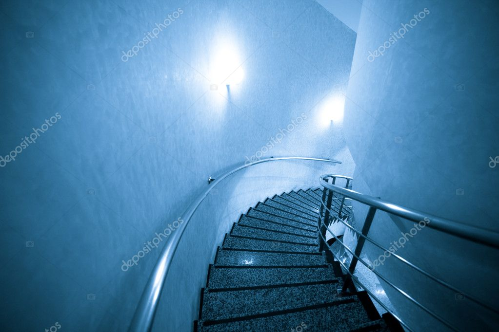 Stairs of a hotel interior.  Stock Photo #9634666
