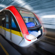 Train motion blur — Stock fotografie