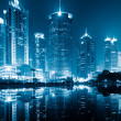Night view of shanghai — Stock Photo #9650223