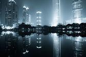 Night view of shanghai — Stock Photo