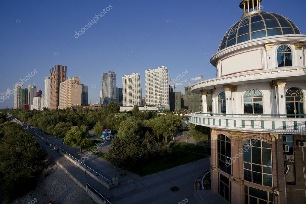 The scene of the city china. — Stock Photo #9662824