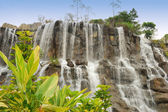 Waterfall in the national park — Stock Photo