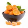 Tangerines ina a bowl — Stock Photo