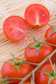 Kokteyl domates — Stok fotoğraf