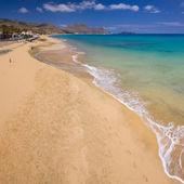 Beach in Porto Santo — Stock Photo