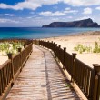 Sidewalk to the beach — Stock Photo #9799549