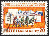 Postage stamp Italy 1968 Mobilization — Stock Photo