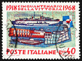 Postage stamp Italy 1968 The Navy — Stock Photo