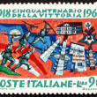 Postage stamp Italy 1968 Battle of Vittorio Veneto — Stock Photo