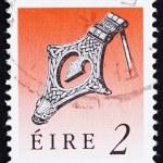 Постер, плакат: Postage stamp Ireland 1990 Silver Kite Brooch Viking Age