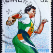 Postage stamp Ireland 1996 Discobolus, 1996 Paralympic Games, At — Stock Photo #10038891