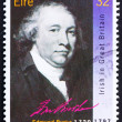 Postage stamp Ireland 1990 Edmund Burke, Statesman — Stock Photo