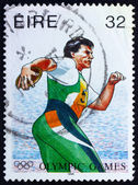 Postage stamp Ireland 1996 Discobolus, 1996 Paralympic Games, At — Stock Photo