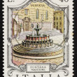 Postage stamp Italy 1974 Fontana Maggiore, Perugia — Stock Photo