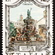 Postage stamp Italy 1978 Neptune Fountain, Trent, Italy — Stock Photo