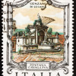 Stock Photo: Postage stamp Italy 1978 CavallinFountain, Genzano di Lucania,