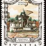 Postage stamp Italy 1978 Cavallina Fountain, Genzano di Lucania, — Stock Photo #10102267