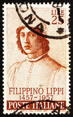Postage stamp Italy 1957 Filippino Lippi, Painter — Stock Photo