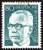 Postage stamp Germany 1971 Gustav Heinemann — Stock Photo