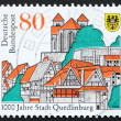 Postage stamp Germany 1994 City of Quedlinburg - Stock Photo