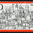 Postage stamp Germany 1971 City of Nuremberg - Stock Photo