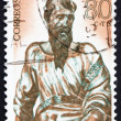 Postage stamp Spain 1962 Apostle, Sculpture by Alonso Berruguete — Stock Photo