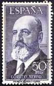 Postage stamp Spain 1955 Leonardo Torres Quevedo, Mathematician — Stock Photo