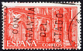 Postage stamp Spain 1959 Monastery of Guadalupe, Portals — Stock Photo