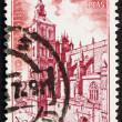 Postage stamp Spain 1971 Astorga Cathedral, Spain — Stock Photo