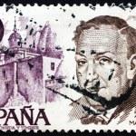 Postage stamp Spain 1978 Antonio Machado Ruiz, Poet and Playwrig — Stock Photo #10237128